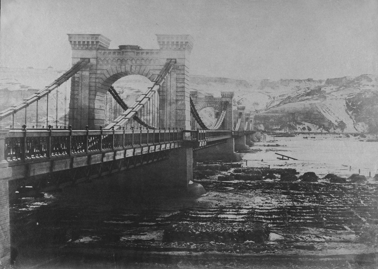 1853 Ланцюговий міст Віньйоля