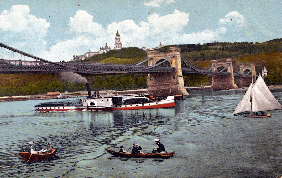 Цепной мост в Киеве