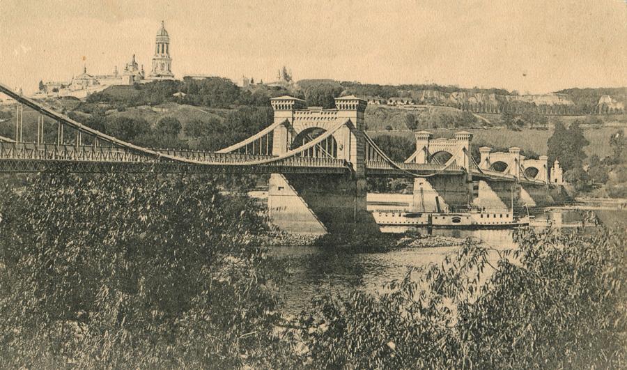 Ланцюговий міст після реконструкції